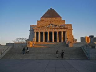 Shrine of Rememberance in Melbourne