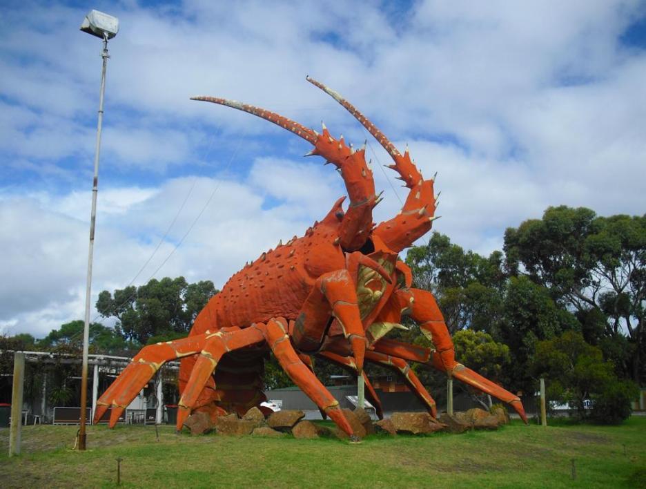 Roadtrip Australien Larry the Lobster Kingston