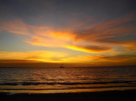 Roadtrip Australien Darwin Sonnenuntergang