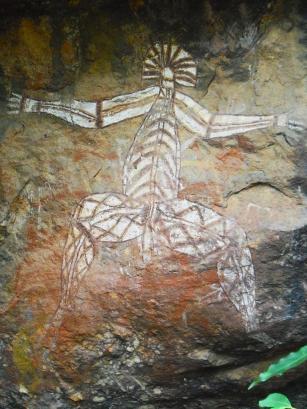 Roadtrip Australien Kakadu Nationalpark Malerei