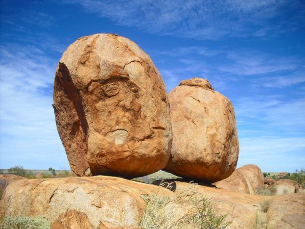 Roadtrip Australien Outback Devils Marbles