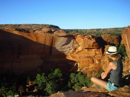 Roadtrip Australien Outback Kings Canyon