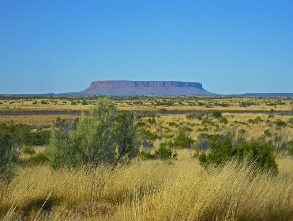 Roadtrip Australien Outback Mount Connor
