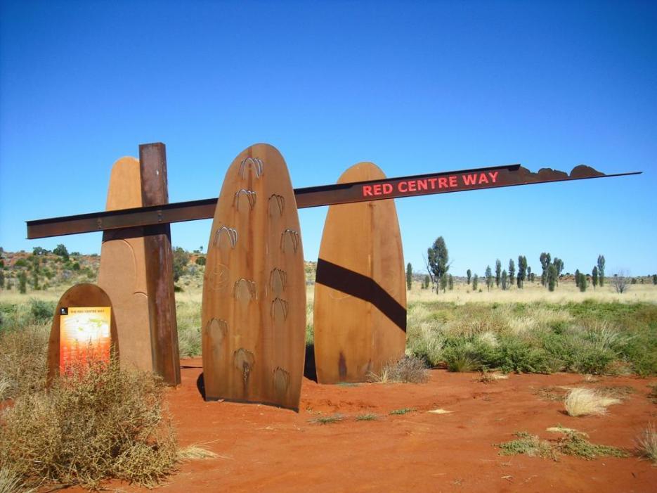 Roadtrip Australien Red Centre Way Outback