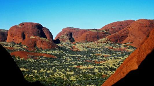 Roadtrip Australien Outback Kata Tjuta