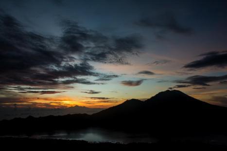 Trekkingtour Gunung Batur Bali Sonnenaufgang