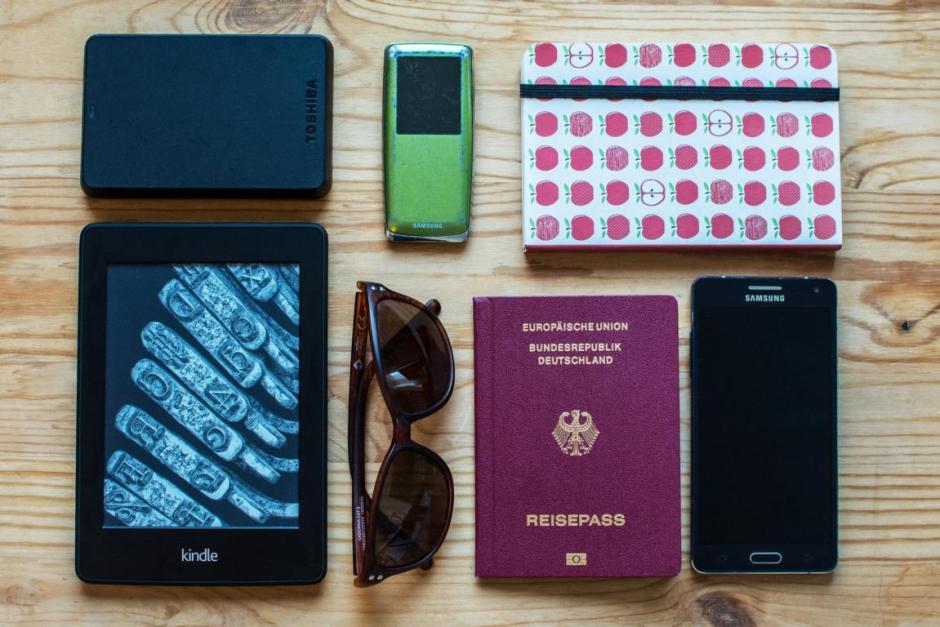 Nur mit Handgepäck reisen - Packliste