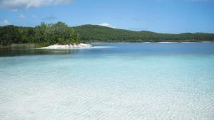 Australische Inseln Ostküste Der kristallklare Lake McKenzie auf Fraser Island