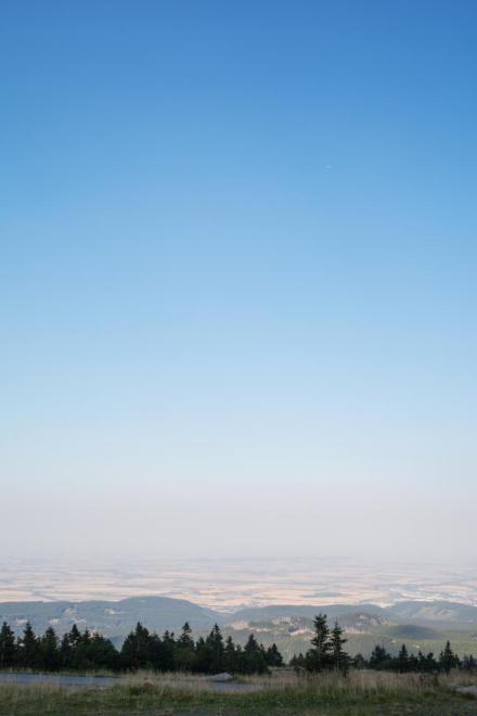 Die Landschaft im Harz