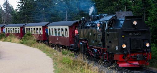 Ein Wochenende im Harz: die Brockenbahn