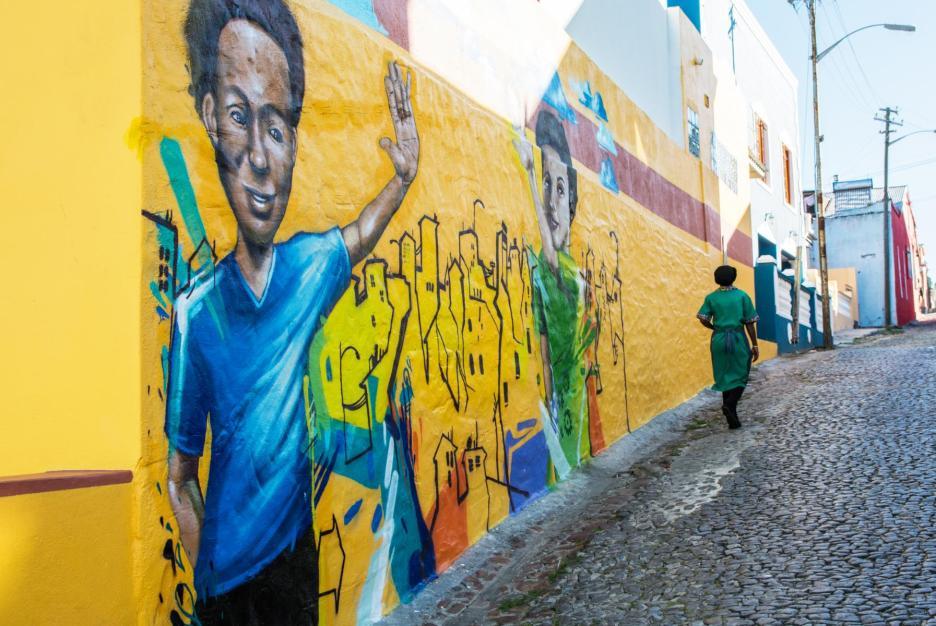 Street Art Bo-Kaap Kapstadt und Umgebung