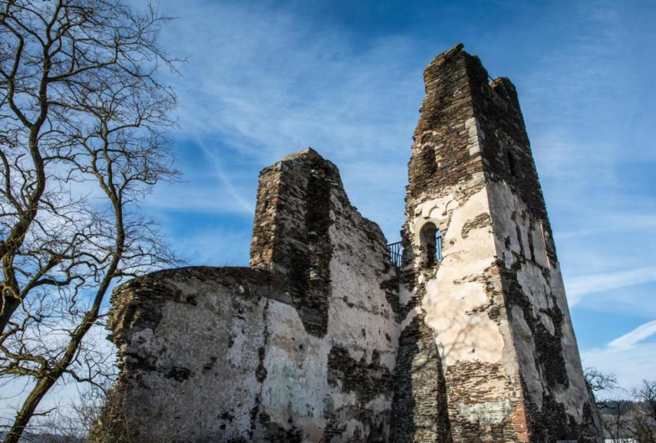 Reise Moseltal Klosterruine Wolf