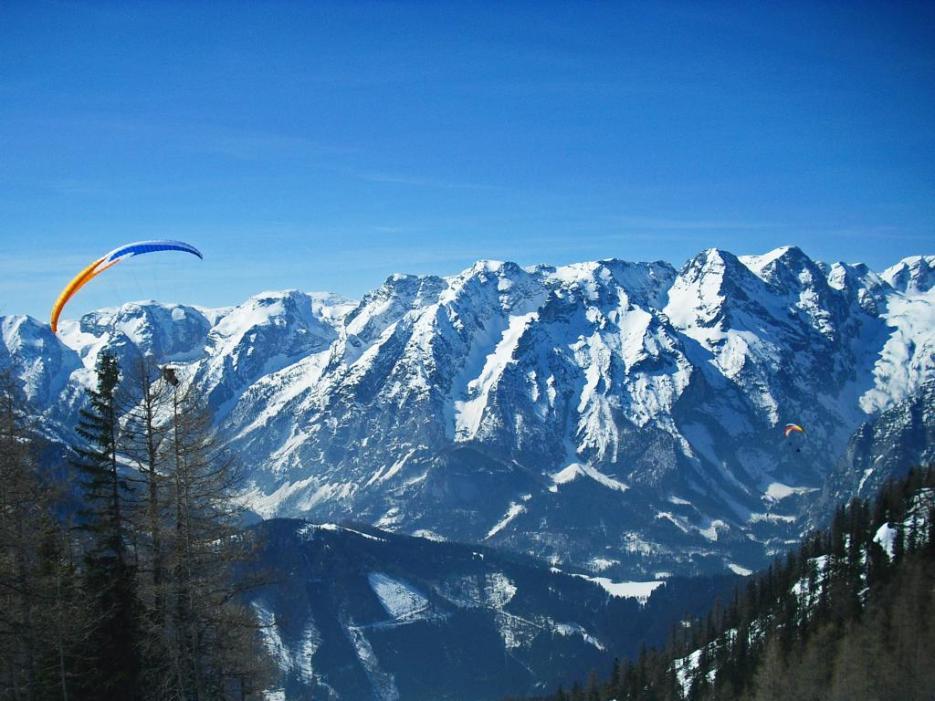 Paragliden in Hinterstoder Österreich