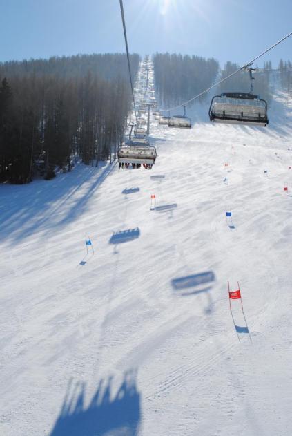 Hinterstoder Österreich Skigebiet Sessellift