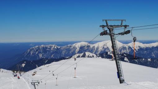 Hinterstoder Österreich Skigebiet Schlepplift