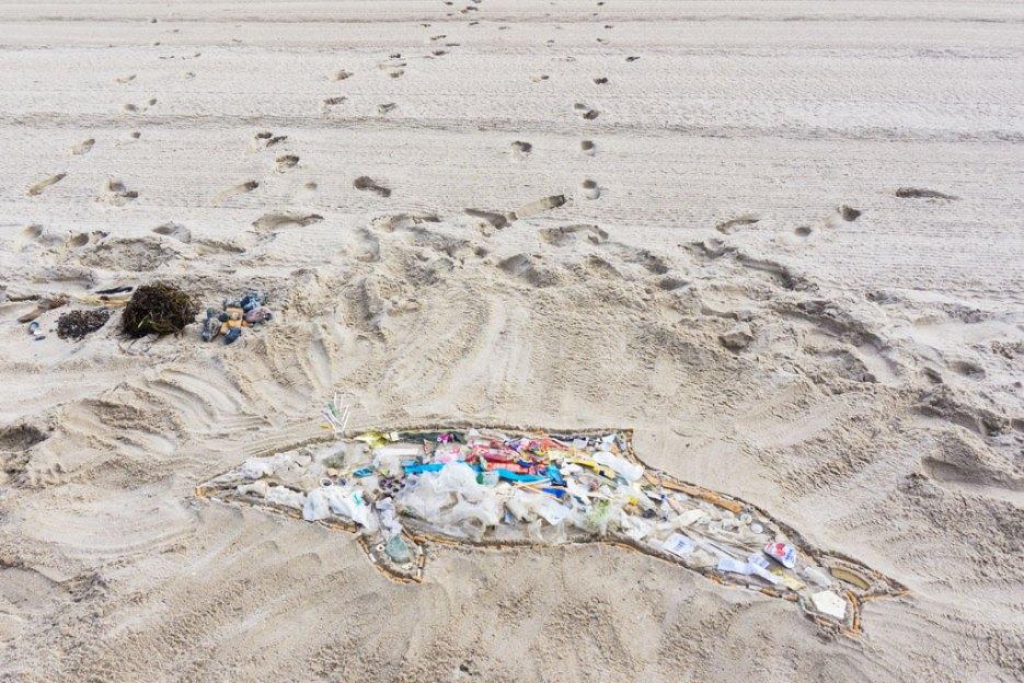 Schweinswal aus Plastik