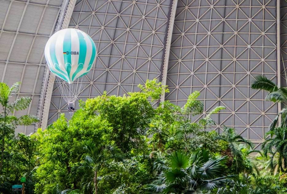 Tropical Islands Ballooning