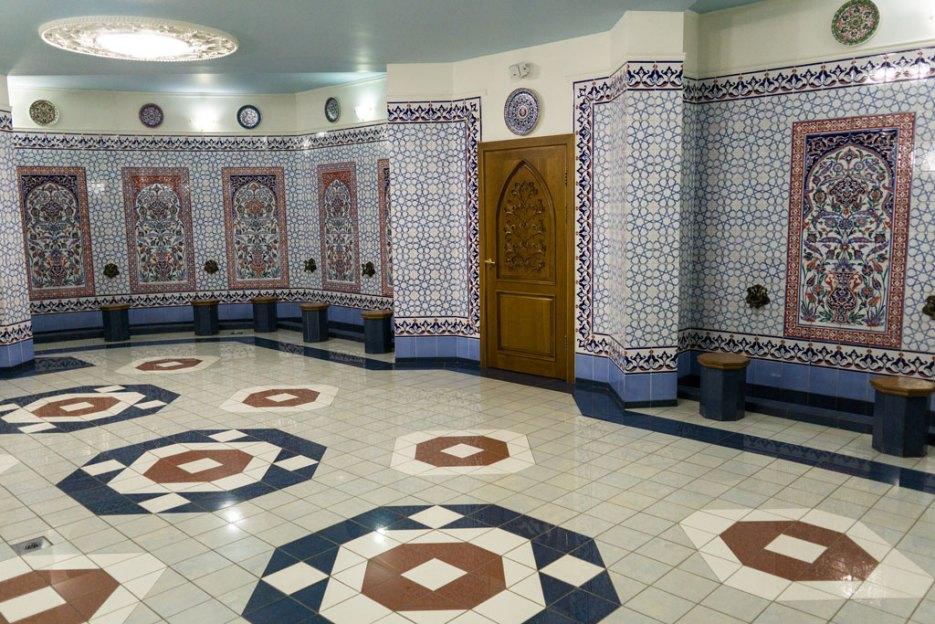 Kul Scharif Moschee Kasan Innenraum