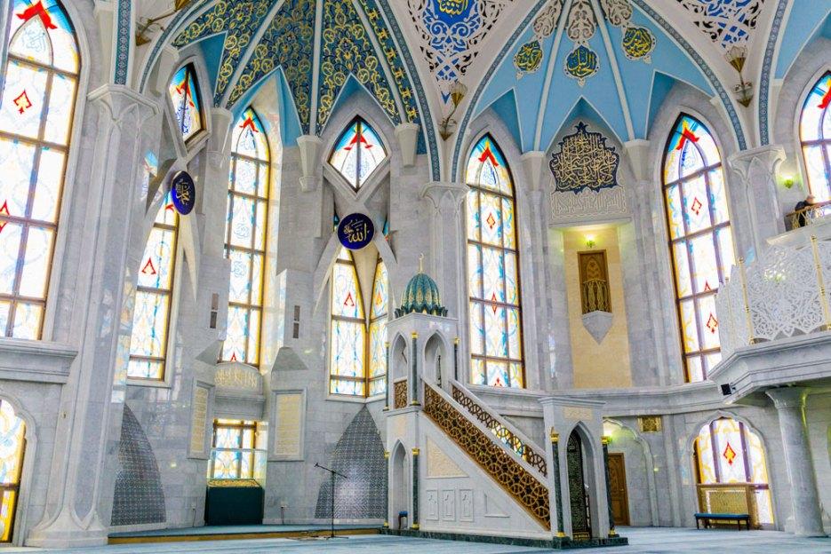 Gebetsraum der Männer Kul Scharif Moschee Kasan