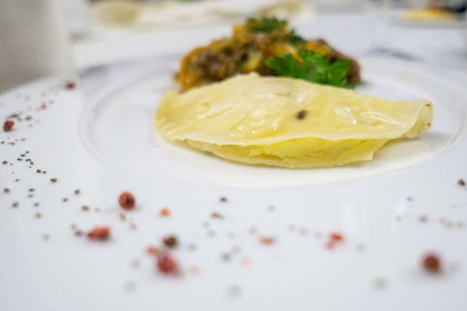 Tatarische Küche Kystybyi