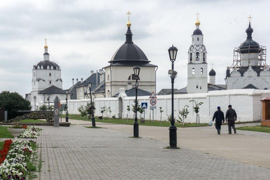 Sehenswürdigkeiten Tatarstan Mariä-Himmelfahrts-Kloster Swijaschsk