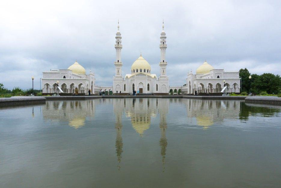 Sehenswürdigkeiten Tatarstan Weiße Moschee Bolgar