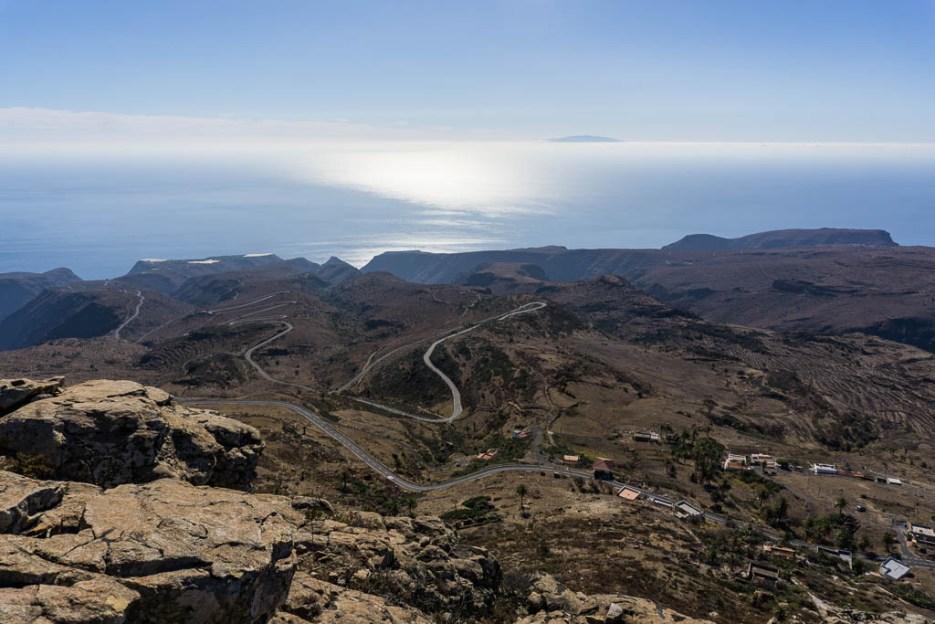 La Fortaleza Aussicht La Gomera