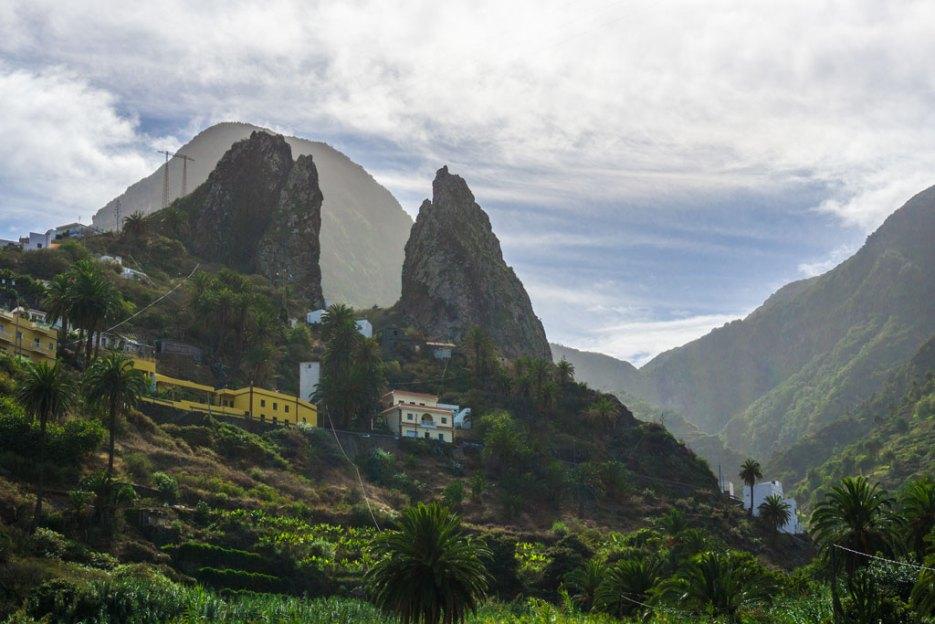 hermigua Roques de San Pedro la gomera