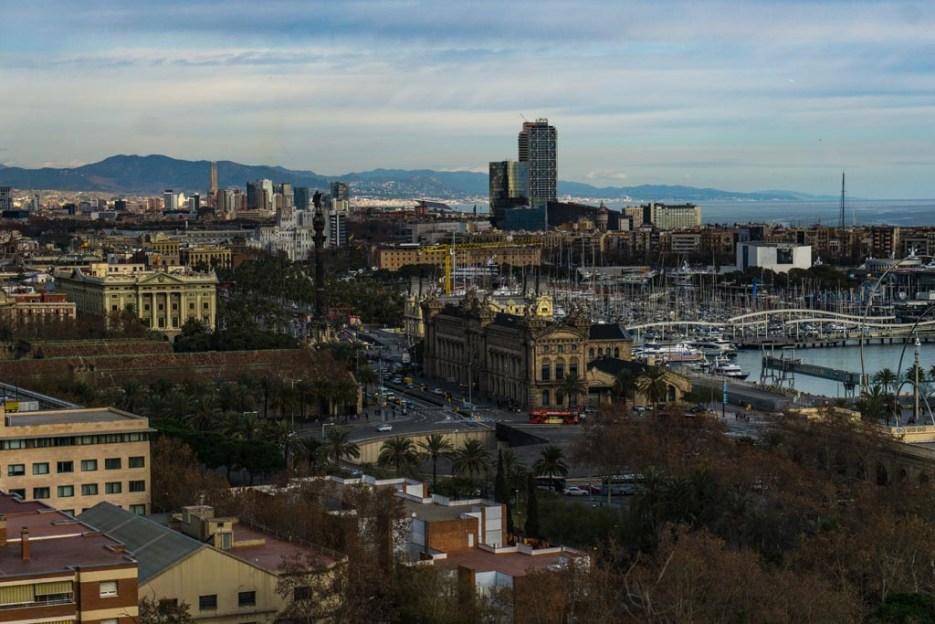 Kurztrip Barcelona Hafen