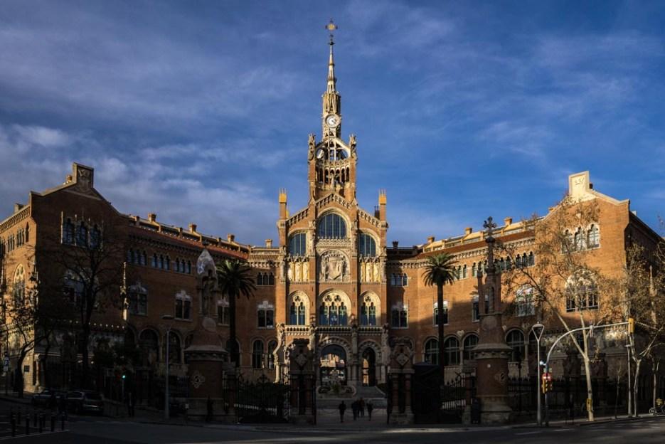 Kurztrip Barcelona Hospital Sant Pau