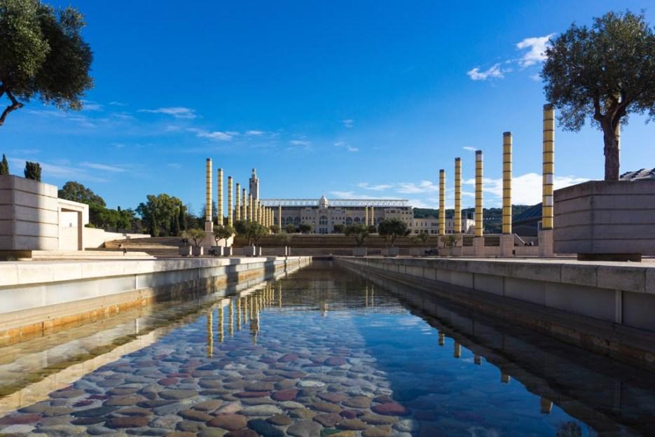Kurztrip Barcelona Olympiapark