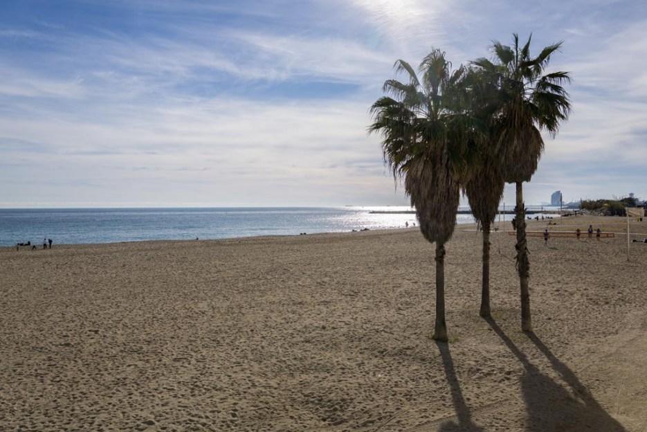 5 Tage Barcelona Strand
