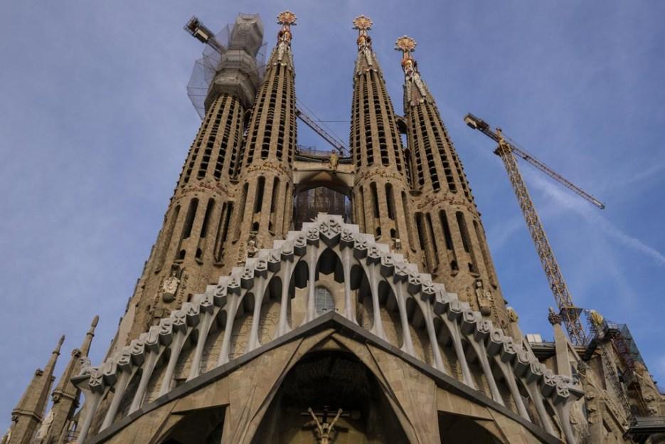 Kurztrip Barcelona Sagrada Familia