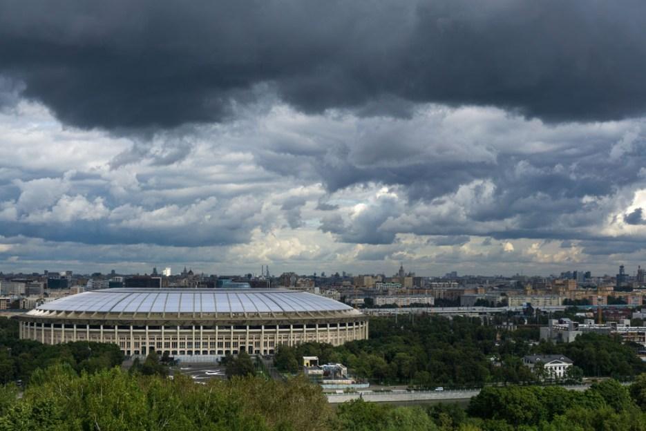 Aussicht Moskau