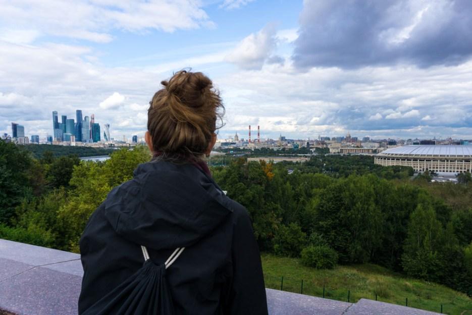Moskau Aussicht