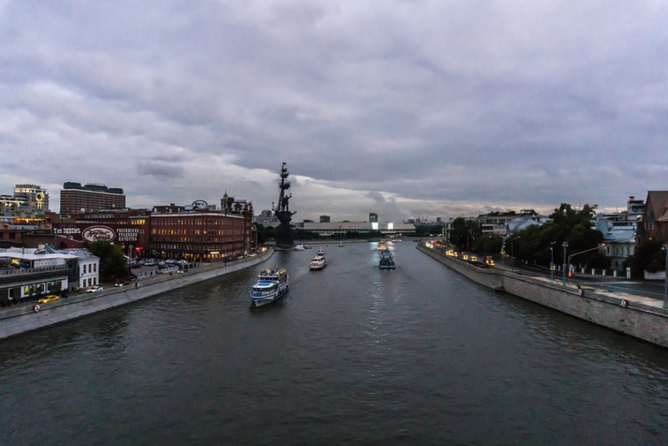 Moskau Denkmal für Peter