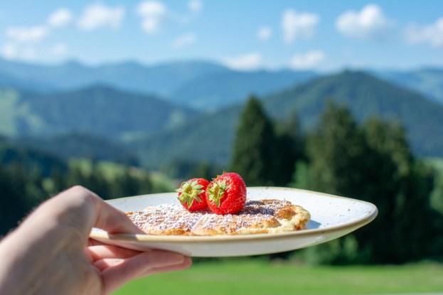 bergfrühstück haubers