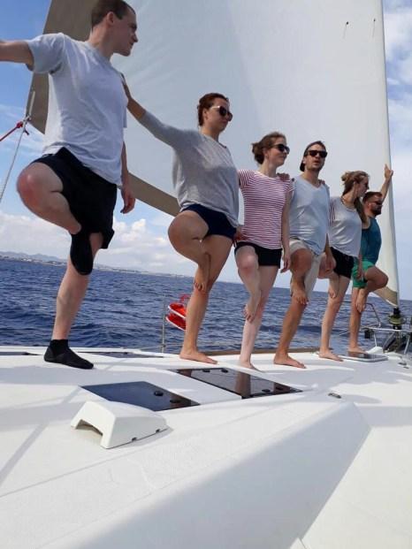segeln yoga mallorca