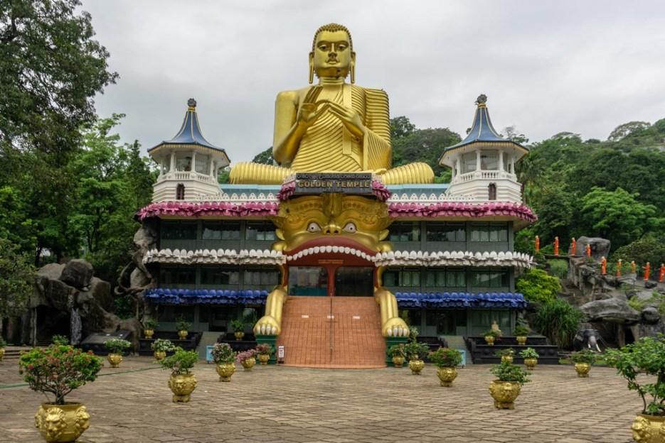 goldener tempel dambulla