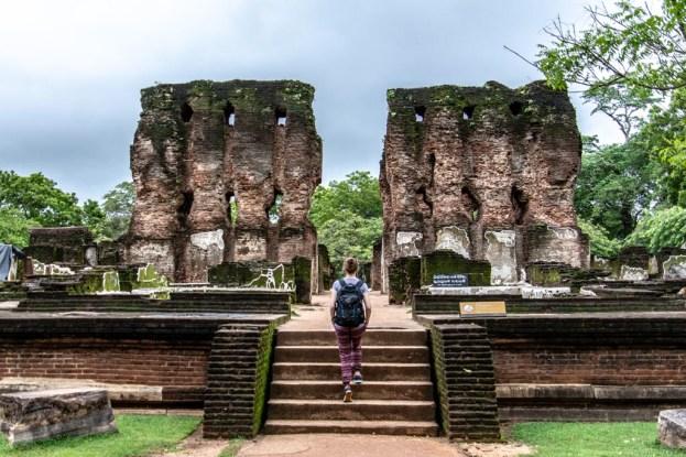 ausflug nach polonnaruwa