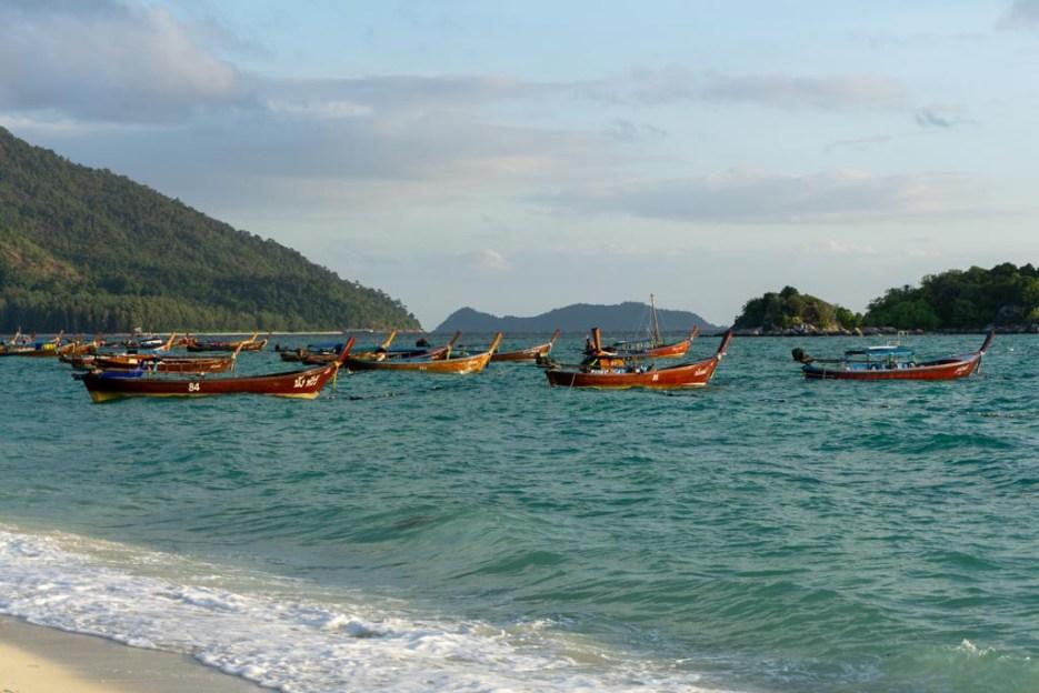 koh lipe thailand longtailboote