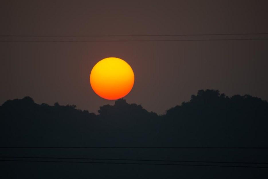 tamron 18-400 mm beispielfoto sonnenuntergang vietnam