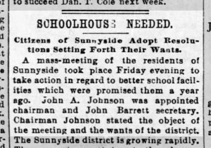News item from SF Call, 14 March 1897.
