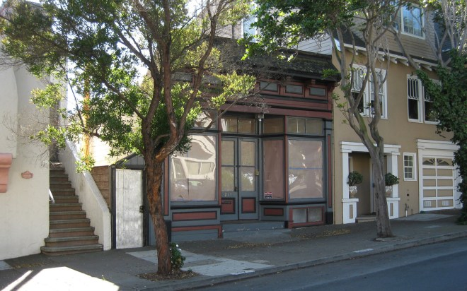 211 Sunnyside Avenue (now 219 Monterey Blvd). Photo: Amy O'Hair