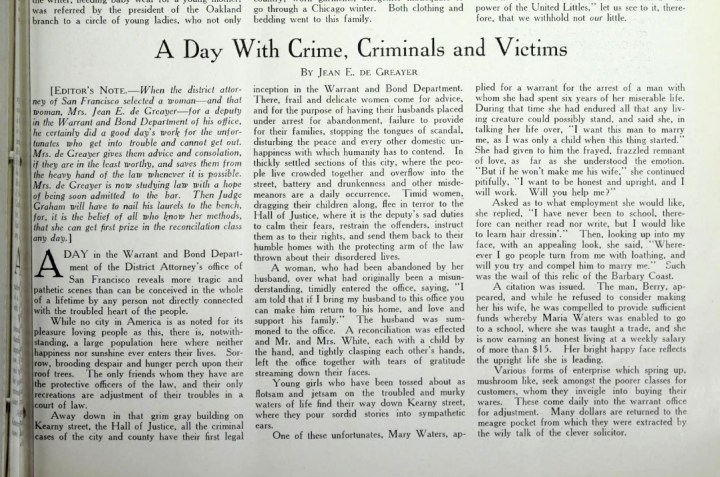 Article by Jean de Greayer in Everywomen, August 1914. From: https://archive.org/stream/evewom09fair#page/n125/mode/2up