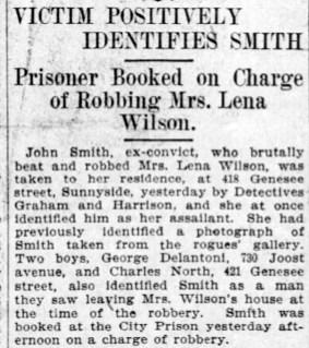 Positive ID by Mrs WIlson. SF Call, 20 Feb 1906, p.5.