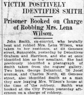 Positive ID by Mrs WIlson. SF Call, 20 Feb 1906, p.5.