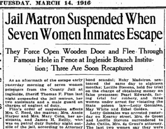 SF Chronicle, 14 Mar 1916.