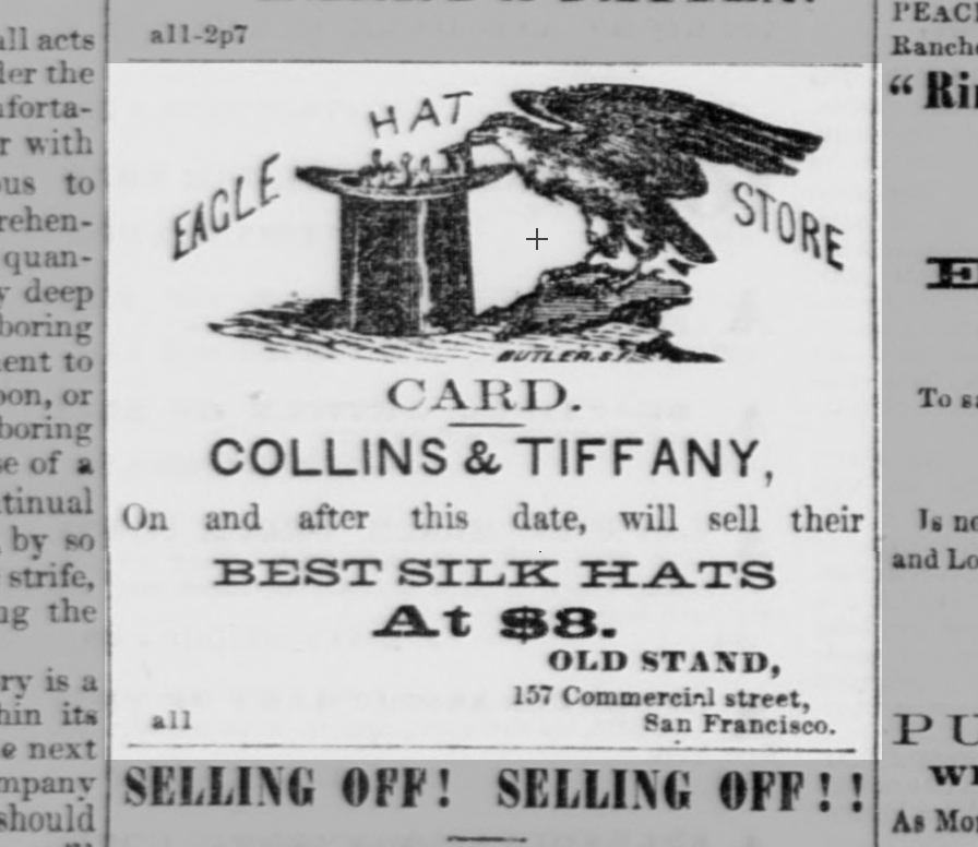 Ad, 11 Apr 1857, Alta Calif