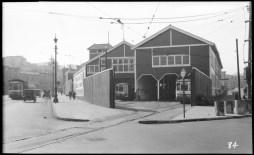 1928 Valencia Car house, Tiffany Ave on right. Courtesy SFMTA http://sfmta.photoshelter.com
